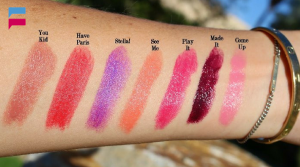 New lipstick shades of  swiss miss for 2016