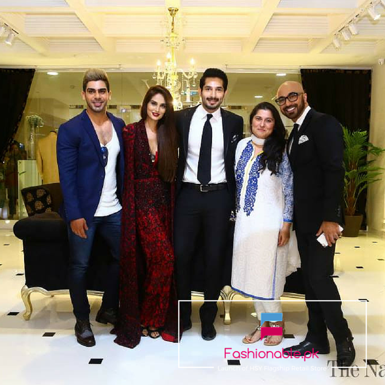 A Fabulous Launch of HSY Flagship Retail Store In Karachi At Dolmen Mall Clifton