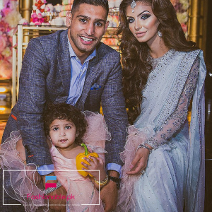 Boxer Amir Khan Spent £100,000 On Her Daughter's Birthday