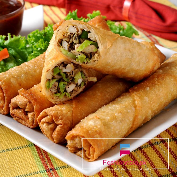 Chicken Roll Recipe Easy & Tasty