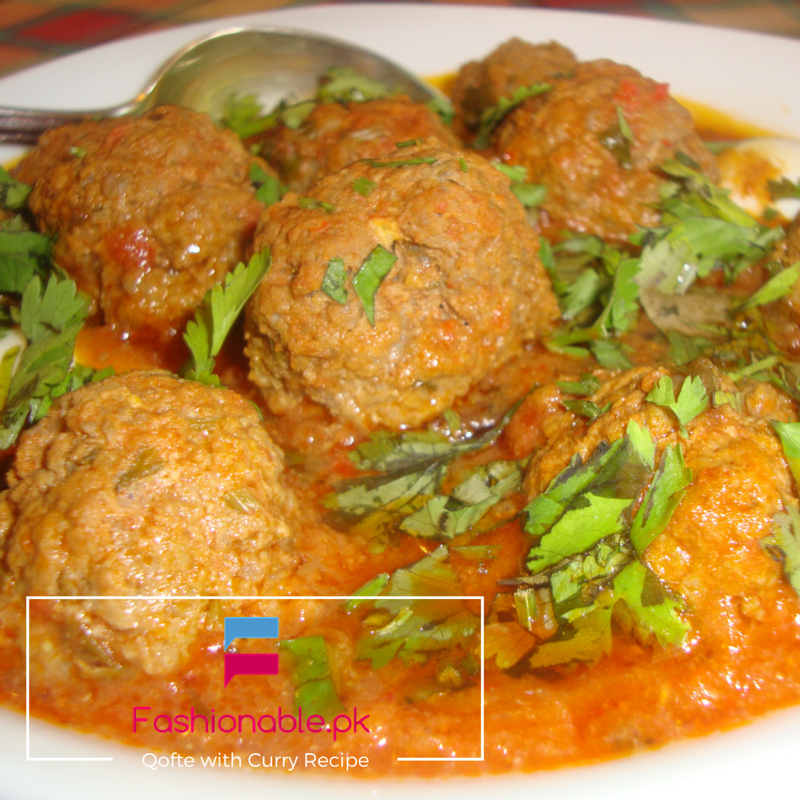 Qofte with Curry Recipe