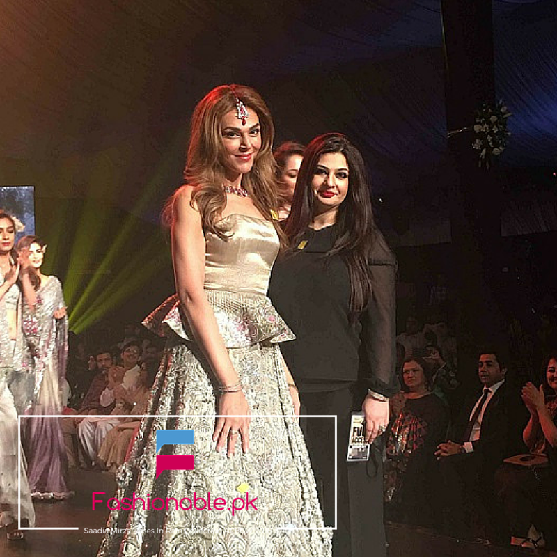 Saadia Mirza Roses In Rain Collection At BCW 2016