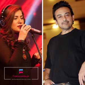 Samra Khan Opened The Concert For Adnan Sami In Dubai