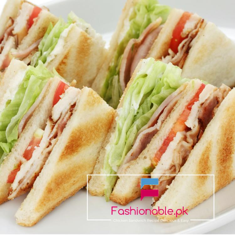 Chicken Sandwich Recipe Delicious & Easy