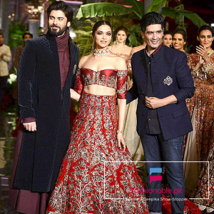 Fawad Khan and Deepika Podukone Turns Show-Stopper For Manish Malhotra At ICW