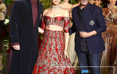Fawad Khan and Deepika Podukon Turns Show-Stopper For Manish Malhotra At ICW