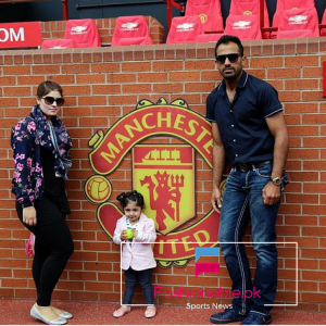 Pakistani Cricketer's Family Trip To Manchester United's Home Ground