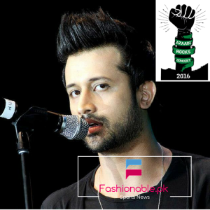 """Atif Aslam Will Perform In """"Azaadi Rocks"""" Concert 2016 At Independence Day"""
