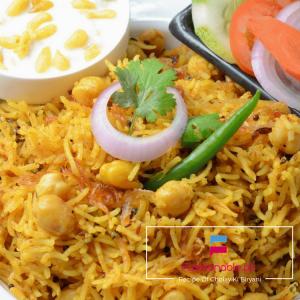 Recipe Of Cholay Ki Biryani Spicy & Yummy