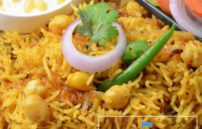 Recipe Of Cholay Ki Biryani Spicy & Yummy