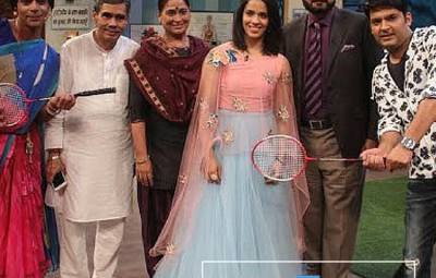 The Kapil Sharma Show - 14th May 2016 - Saina Nehwal
