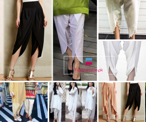 New trend in Fashion Tulip Shalwars Or Tulip Pants