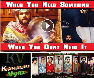 When you need something – Karachi Vynz Video