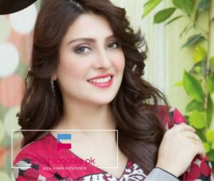 An Interview With Top Class Model Cum Actress Aiza Khan