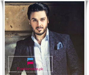 Talented And Handsome Celebrity Style Icon 'Ahsan Khan'