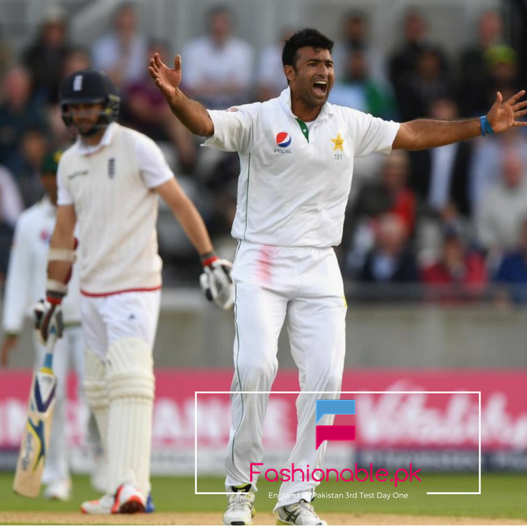 England VS Pakistan, Third Test, Day One, England All Out For 297 (1)