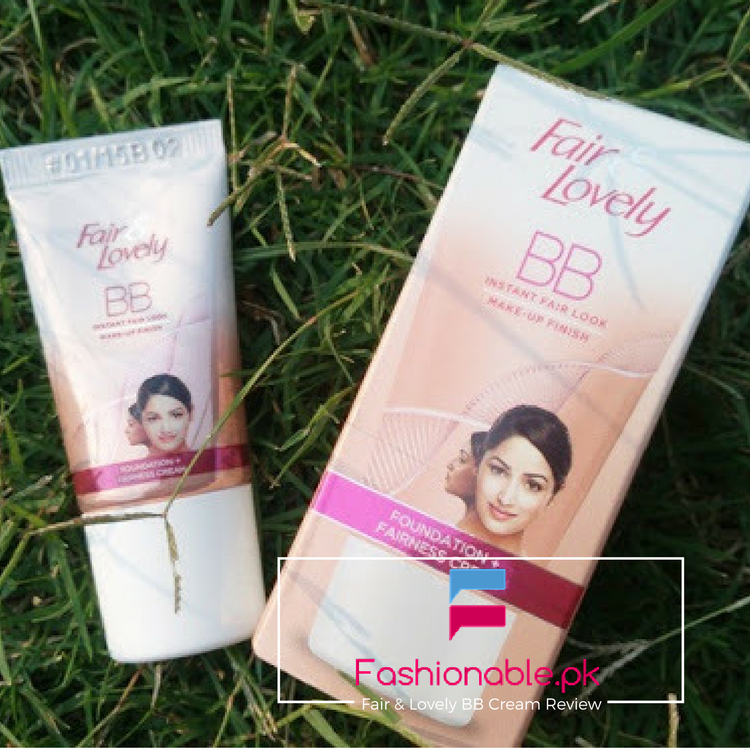 Fair & Lovely BB Cream Review