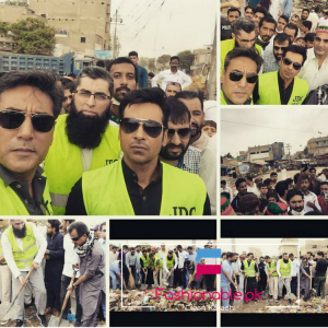 Junaid Jamshed, Faisal Qureshi And Adnan Siddiqui Joins Hands To Clean Karachi