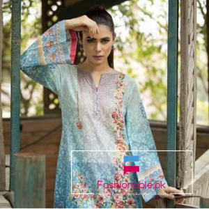 Kayseria Pure Harmony Embroidered Unstiched Mid Summer Collection 2016