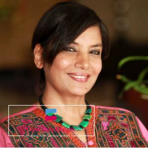 Shabana Azmi Signed Pakistani Film