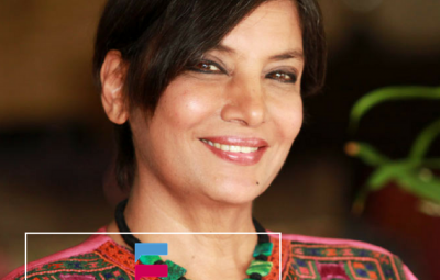 Shabana Azmi Signed Pakistani Film