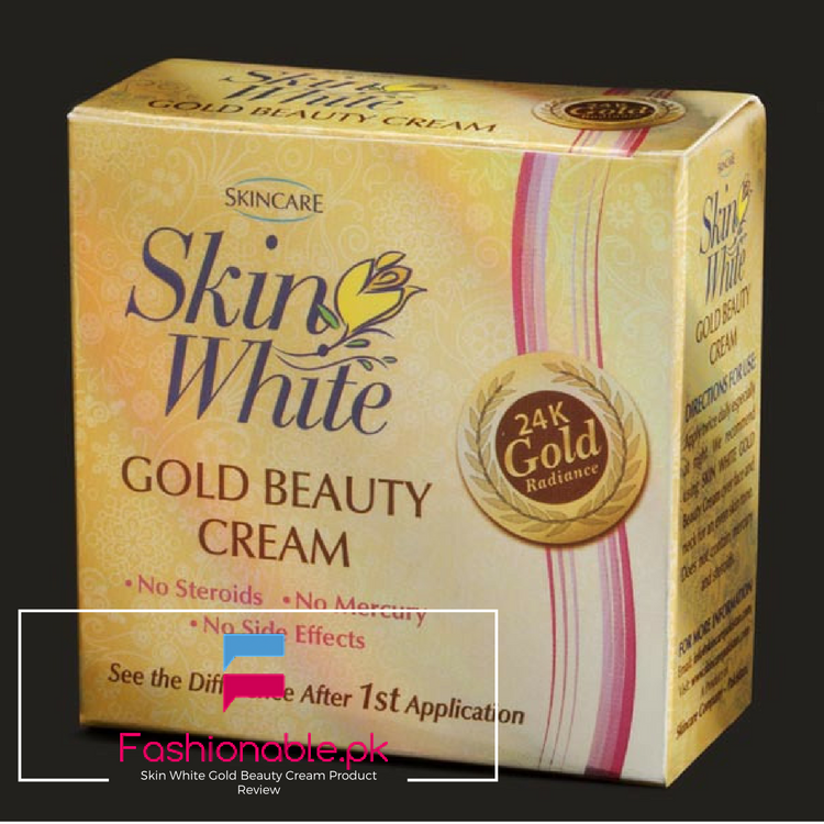 Skin White Gold Beauty Cream Product Review