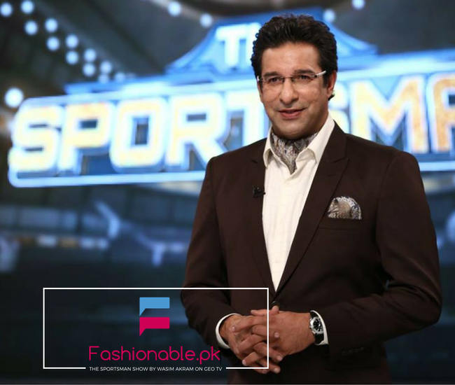 The Sportsman Show By Wasim Akram on Geo TV