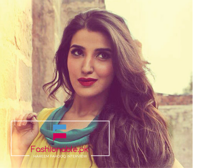 Hareem Farooq Interview