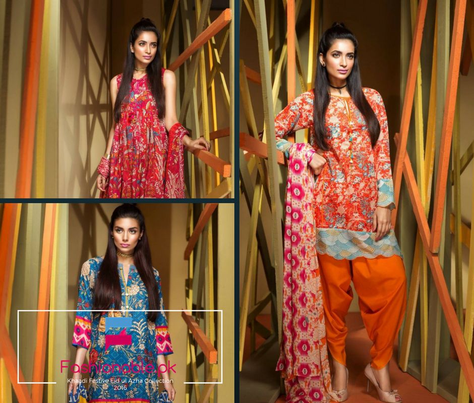 Khaadi Festive Eid ul Azha Collection 2016