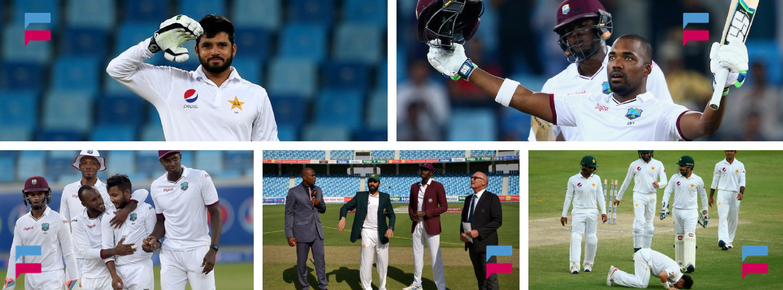 Pakistan Vs West Indies – 1st Test Match – Dubai 2016