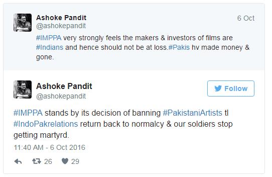 pakistani movies ban in india