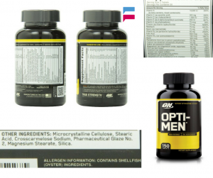 Review: Optimum Nutrition Opti-Men Supplement, 150 Count