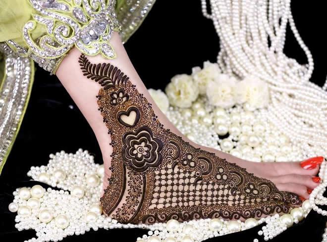 Mehndi Designs For Feet Bridal : New mehndi designs beautiful for feet bridal