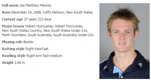 joe-mennie-australia-cricket-cricket-players