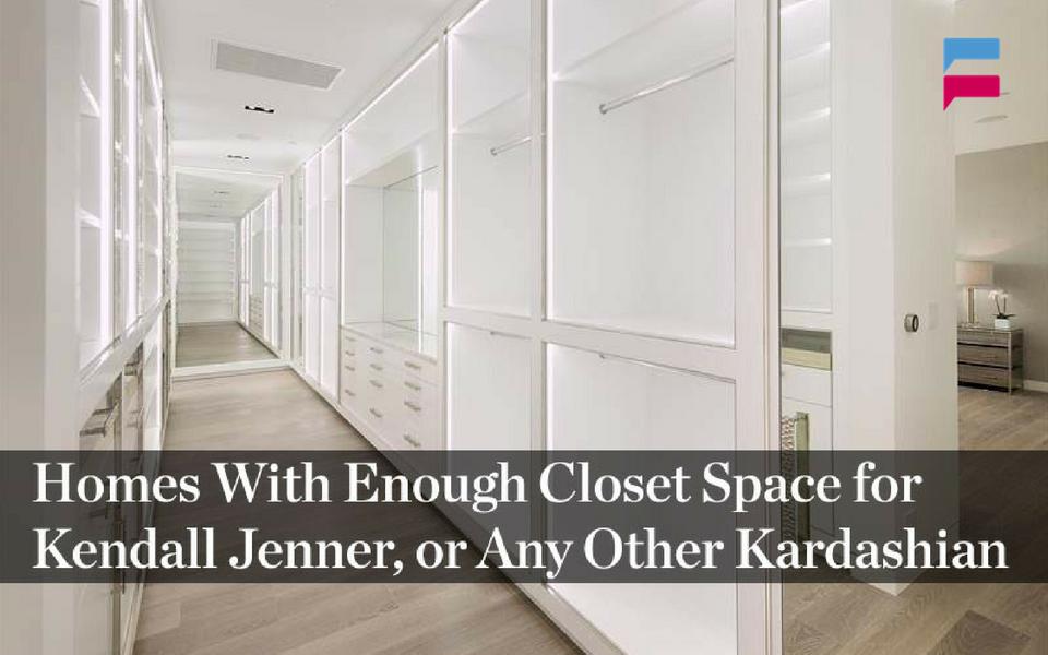 kylie jenner closet space