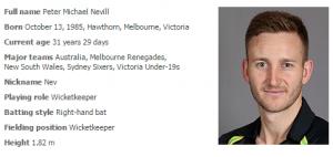 peter-nevill-australia-cricket-cricket-players