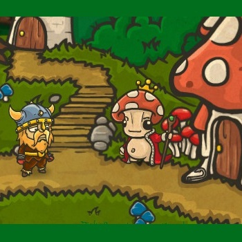 Curse of The Mushroom King - Play Adventure Games online