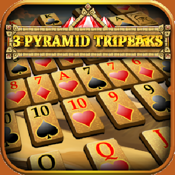 3 Pyramid Tripeaks - Play Cards Games online