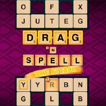 Drag n Spell Time Attack - Play Word Games online