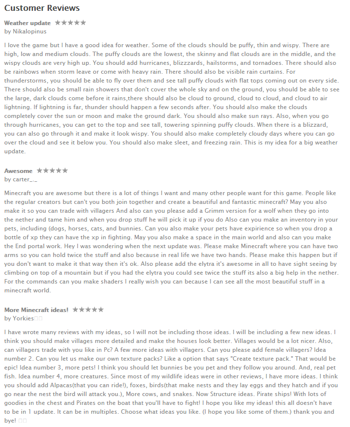 Reviews: Minecraft Pocket Edition App - Trending Apps