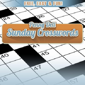 Penny Dell Sunday Crossword - Play Word Games online