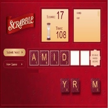Scrabble Hasbro - Play Board Games online