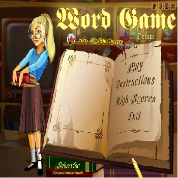 Word Game Deluxe - Play Word Games online