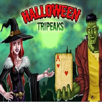 Halloween Tripeaks - Play Cards Games online