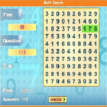 Math Search - Play Educational Games online