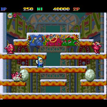 Snow Bros - Play Arcade Games online
