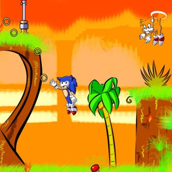 Super Sonic Hedgehog - Play Arcade Games online