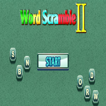 Word Scramble 2 - Play Educational Games online