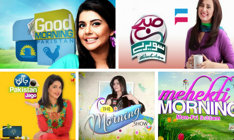 Morning shows in Pakistan Live online