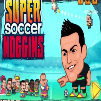Super Soccer Noggins - Play Simulation Games online